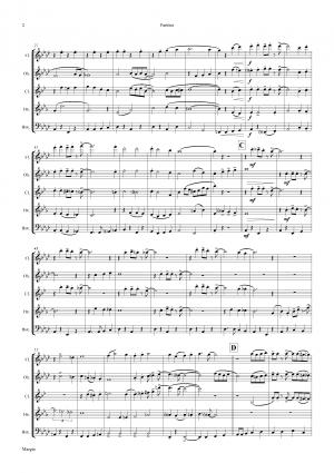 Margie – Dixieland Classic – Wind Quintet