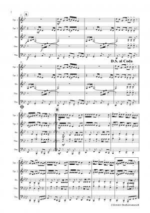 Zillertaler Hochzeitsmarsch – October Fest – Brass Quintet