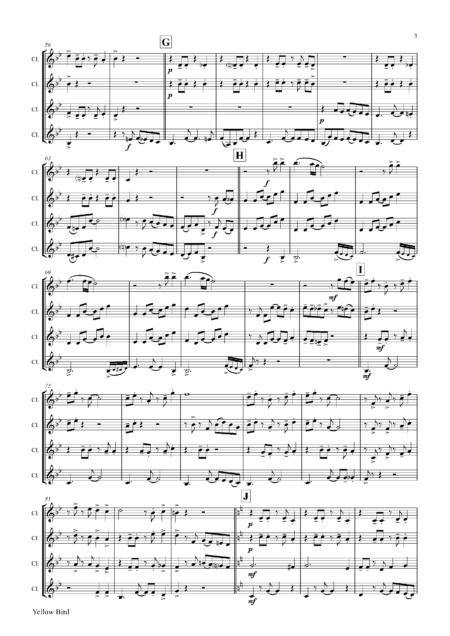 YellowBirdClarinetQuartet Seite 04