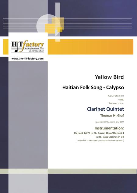 YellowBirdClarinetQuintet Seite 01