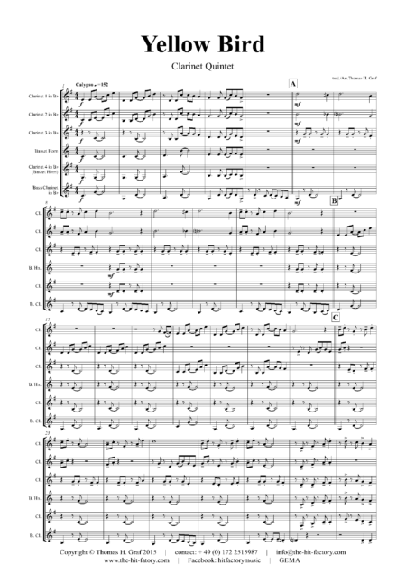 YellowBirdClarinetQuintet Seite 02