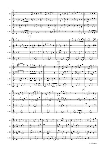 YellowBirdFluteQuartet Seite 03