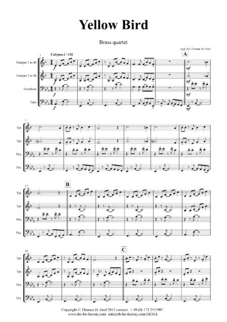 YellowBirdBrassQuartet Seite 02