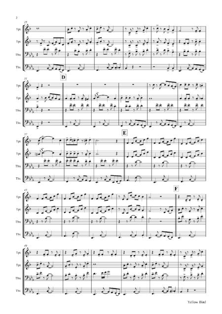 YellowBirdBrassQuartet Seite 03