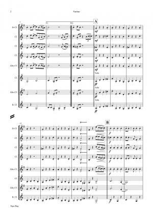 Tiger Rag – Jazz Classic – Clarinet Quintet