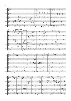Bella Ciao – Italian Classic – Wind Quintet