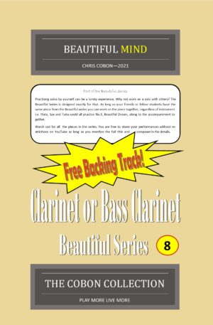 No.8 Beautiful Mind (Clarinet or Bass Clarinet)