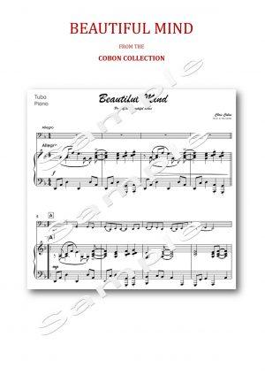 No.8 Beautiful Mind (Tuba, Eb Bass or Bb Bass)