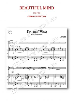 No.8 Beautiful Mind (Violin or Viola)