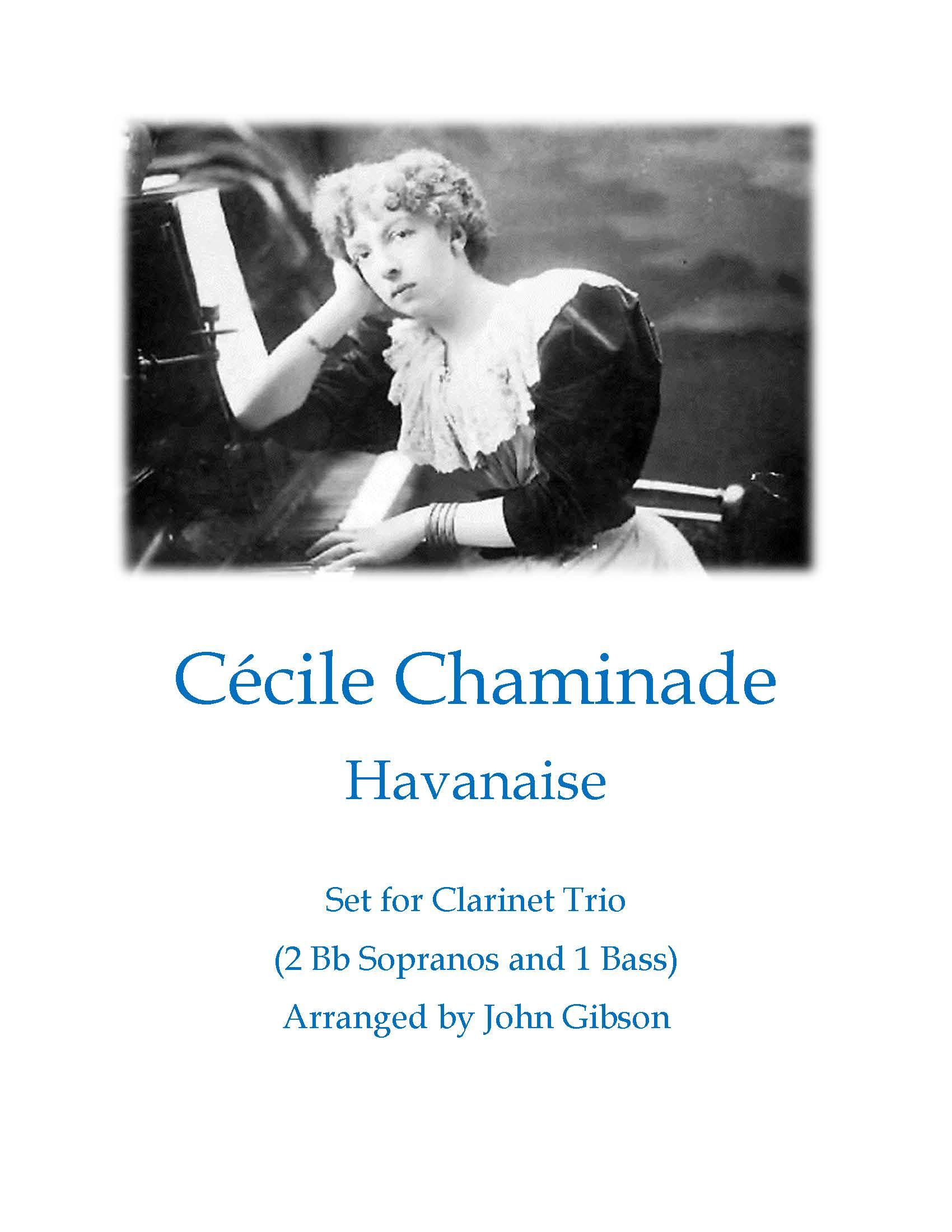 cover Chaminade Havanaise clar trio