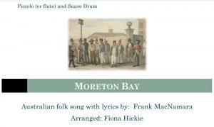 Moreton Bay – Piccolo Solo