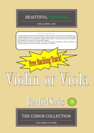 No.9 Beautiful Morning (Violin or Viola)