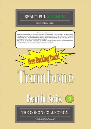 No.9 Beautiful Morning (Trombone Bass Clef or Bb Treble Clef)