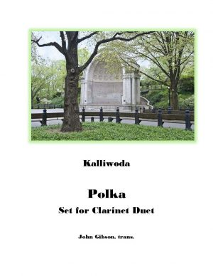 Polka for Clarinet Duet by Kalliwoda