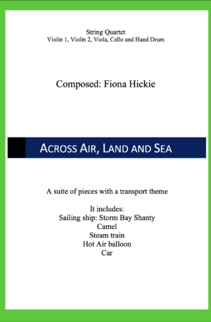 Across Air, Land and Sea – String Quartet