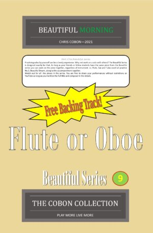 No.9 Beautiful Morning (Flute or Oboe)