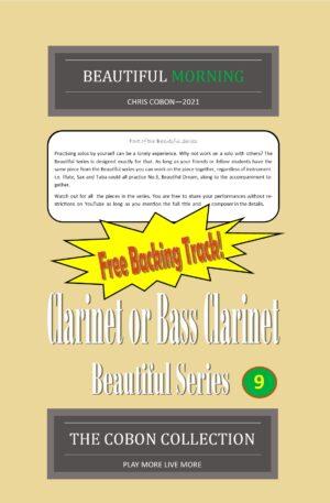 No.9 Beautiful Morning (Clarinet or Bass Clarinet)