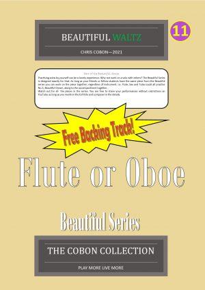 No.11 Beautiful Waltz (Flute or Oboe)