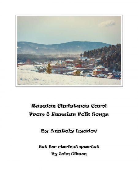 Russian Christmas Carol Clar 4 cover