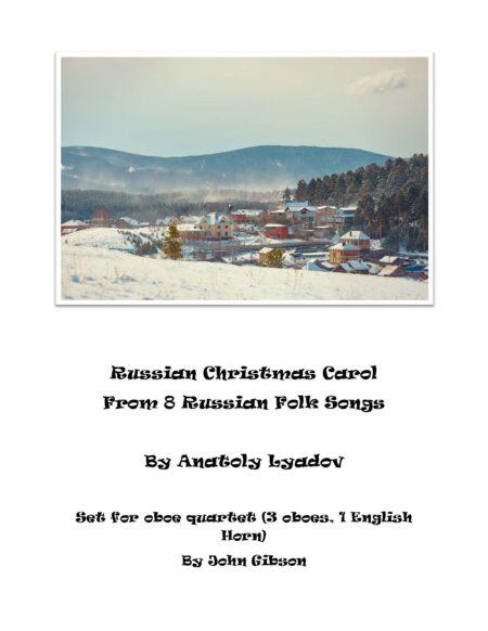 Russian Christmas Carol oboe 4 cover