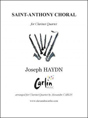Haydn – Saint-Anthony Choral for Clarinet Quartet