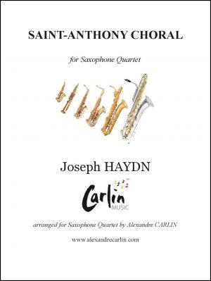 Haydn – Saint-Anthony Choral for Saxophone Quartet