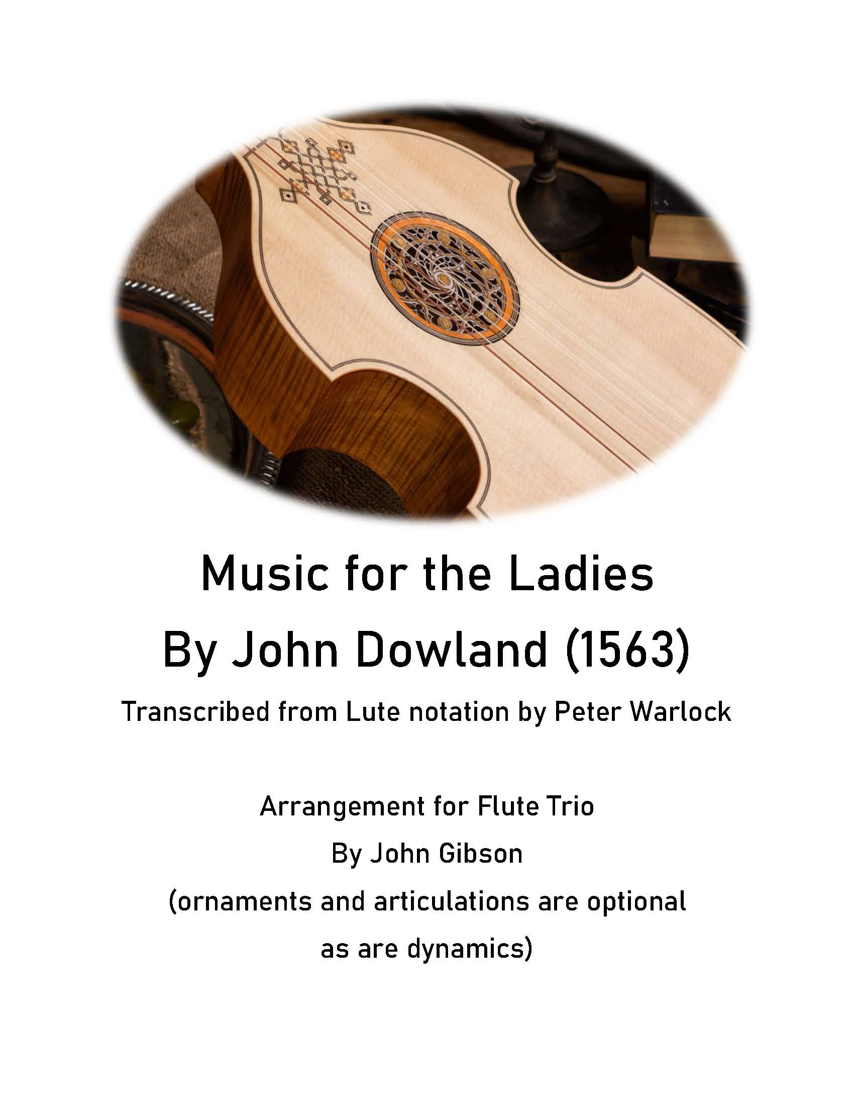 Music for the Ladies fl 3 cover