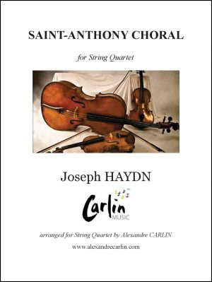 Haydn – Saint-Anthony Choral for String Quartet