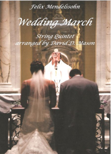 Wedding March String Quintet front cover scaled