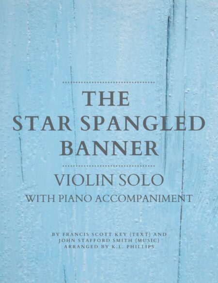 The Star Spangled Banner - Violin Solo with Piano Accompaniment web cover