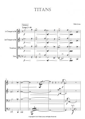 Brass Quartet – Titans