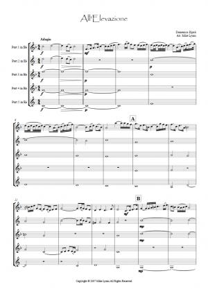 Brass quintet – All'Elevazione