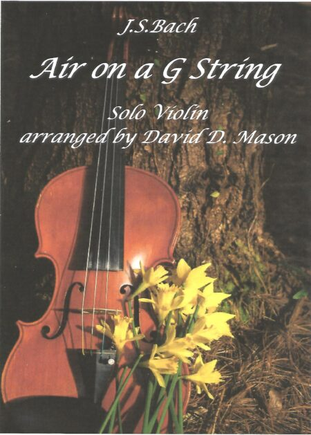 Air on a G String Violin front cover