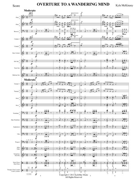 Overture To A Wandering Mind 00 Score Letter Size Page 3