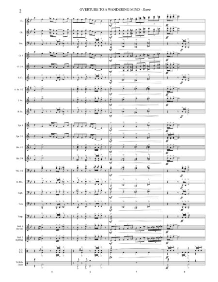 Overture To A Wandering Mind 00 Score Letter Size Page 4