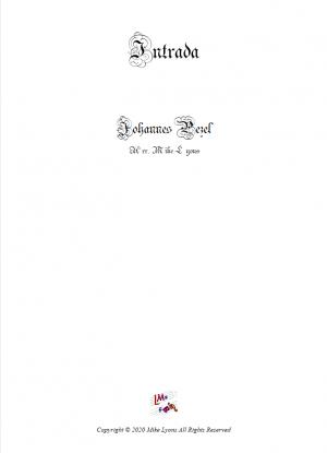 Brass Quintet – Intrada (Pezel)