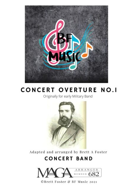 Concert Overture No.1 Marques Concert Band Cover