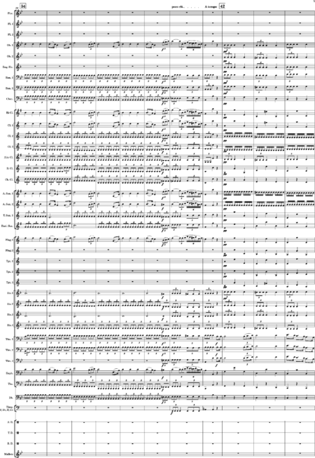 Overture No 1 for Modern Wind Band Marques 0005