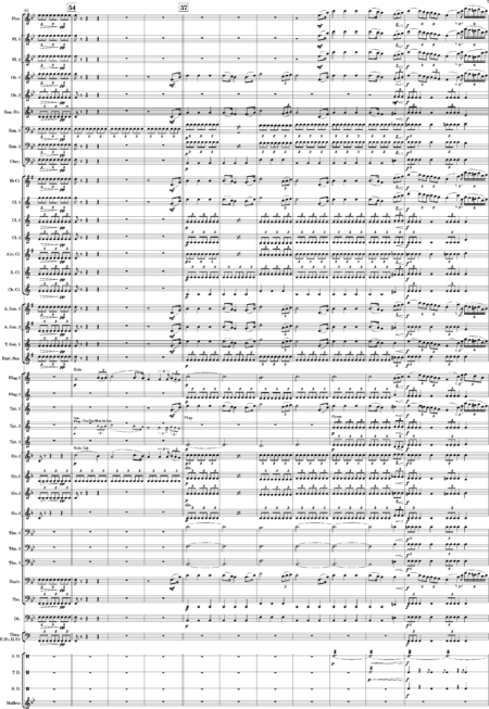 Overture No 1 for Modern Wind Band Marques 0007