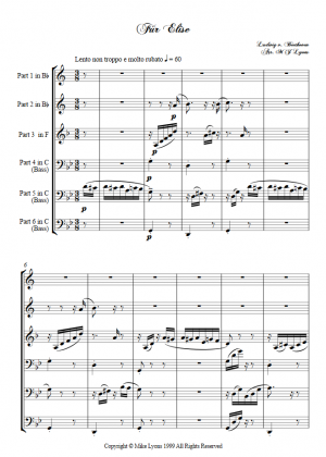 Brass Sextet – Für Elise