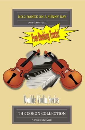 No.2 Dance on a Sunny Day – Two Violins and Piano