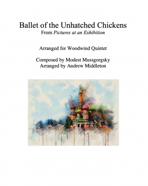 Ballet of the Unhatched Chickens arranged for Wind Quintet
