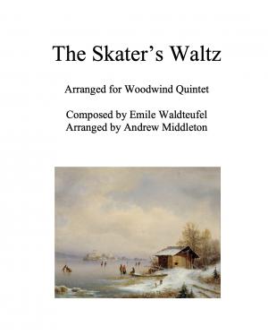 The Skater's Waltz arranged for Woodwind Quintet
