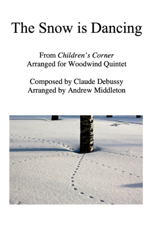 The Snow is Dancing arranged for Wind Quintet
