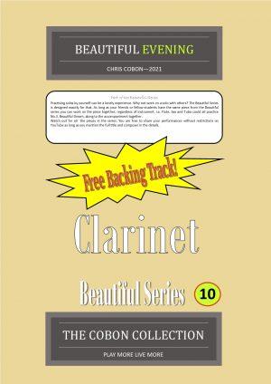 No.10 Beautiful Evening (Clarinet or Bass Clarinet)