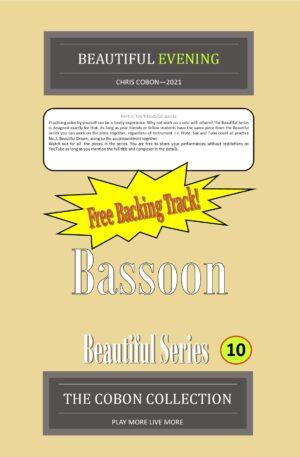 No.10 Beautiful Evening (Bassoon)
