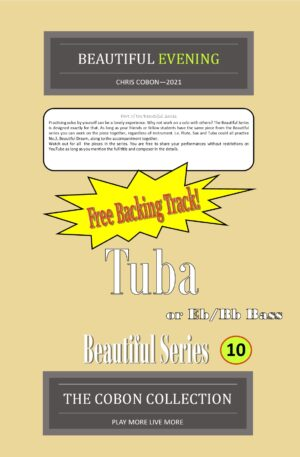 No.10 Beautiful Evening (Tuba, Eb Bass or Bb Bass)