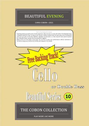 No.10 Beautiful Evening (Cello or Double Bass)