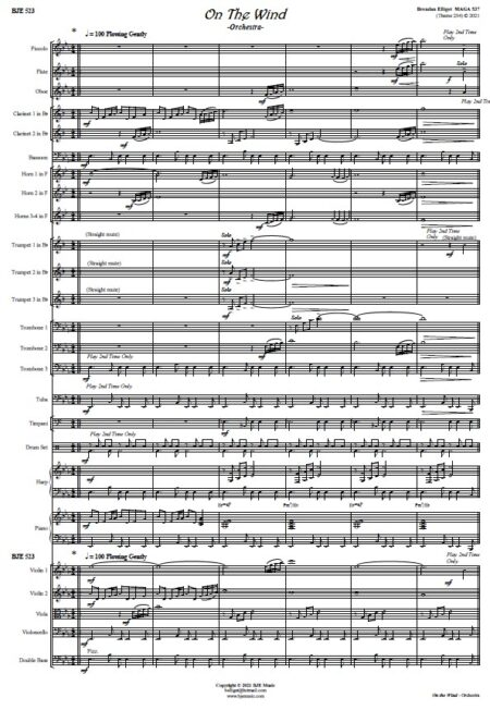 523 On The Wind Orchestra SAMPLE Page 001
