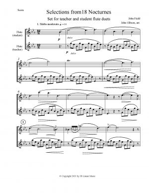 Flute Duets for Students and Their Teachers